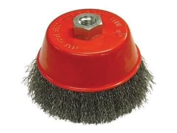 Wire Cup Brush 125mm M14x2, 0.30mm Steel Wire